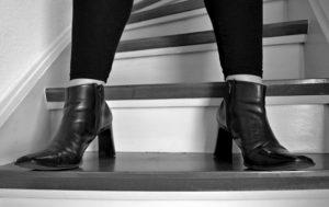 talons chaussures carrés