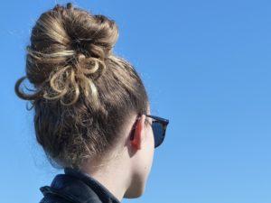 chignon coiffure facile